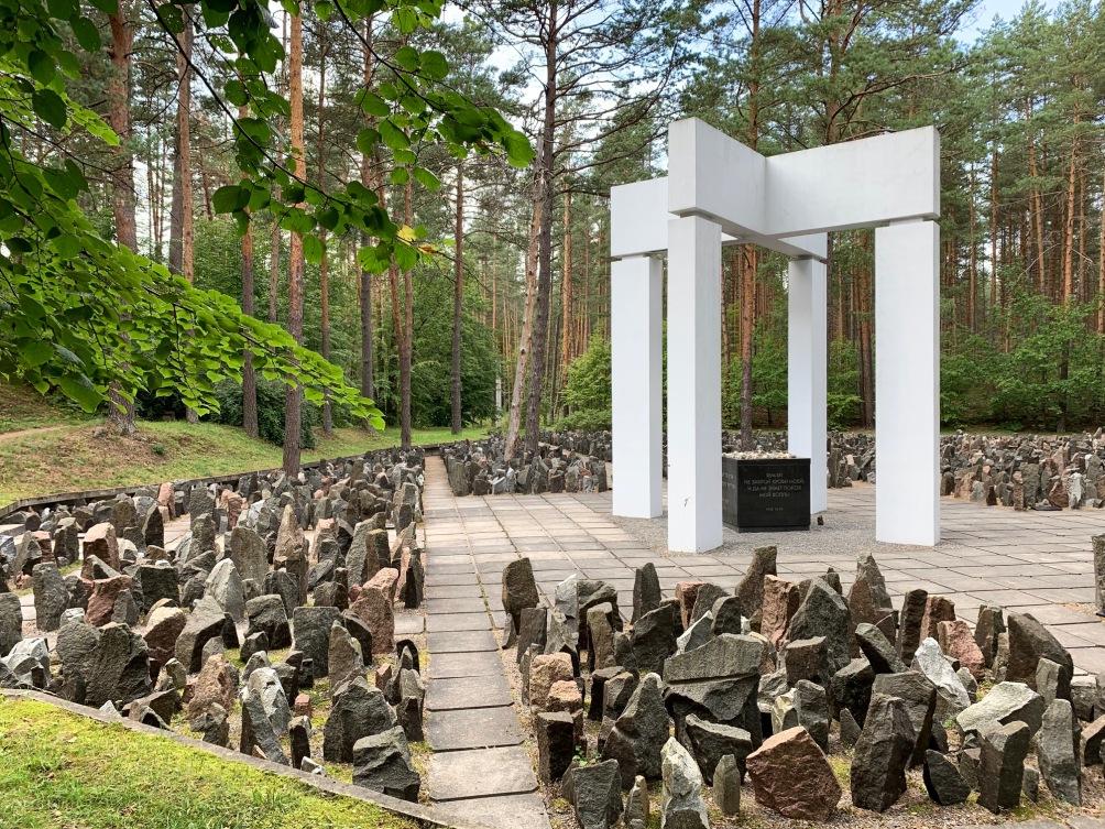 Riga forest memorial Jewish