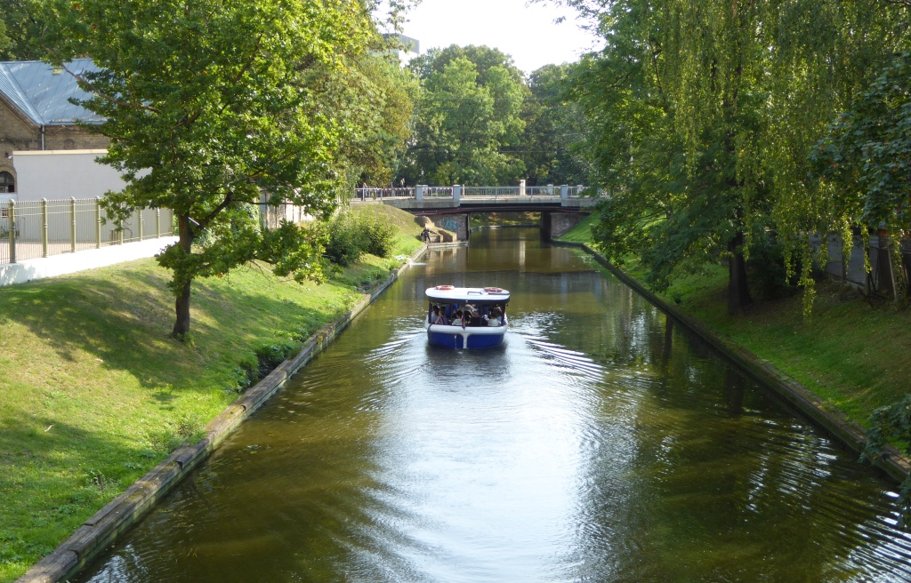 Riga canal boat trip