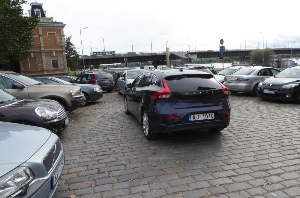 Riga car parking