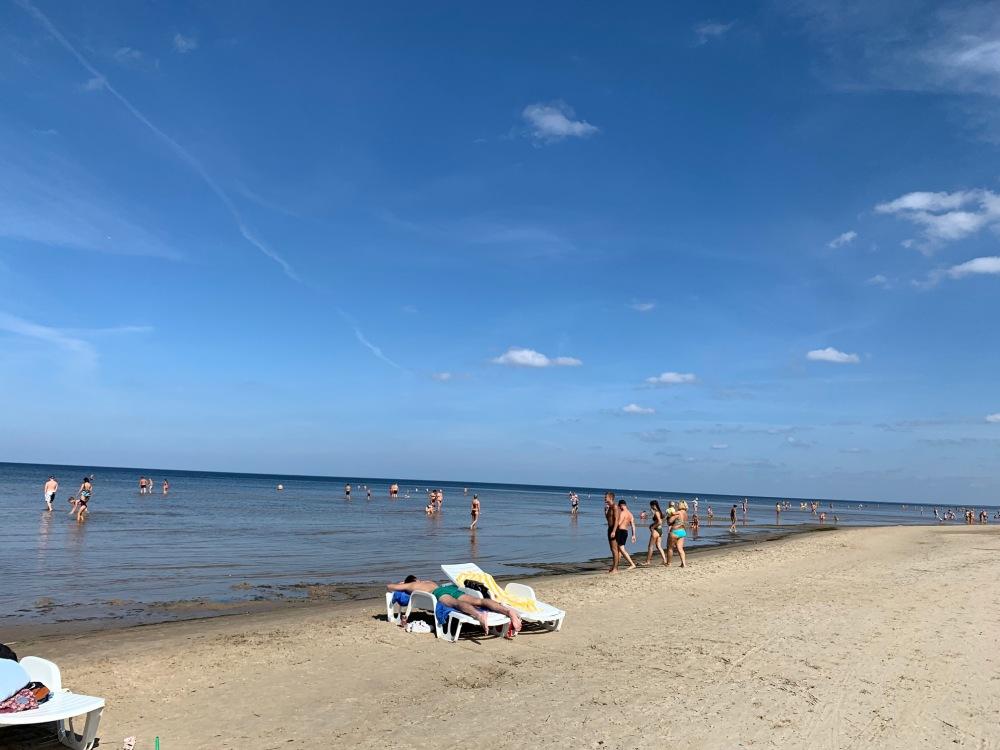 Jurmala Latvia beach