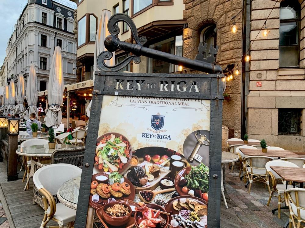 Key to Riga food