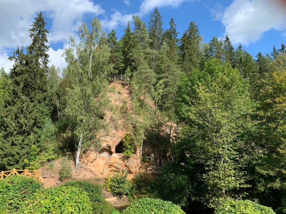 Ligatne caves latvia