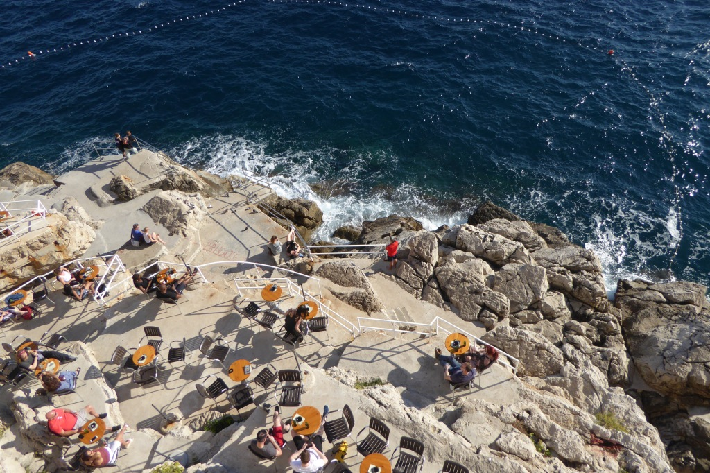 Dubrovnik beach bar