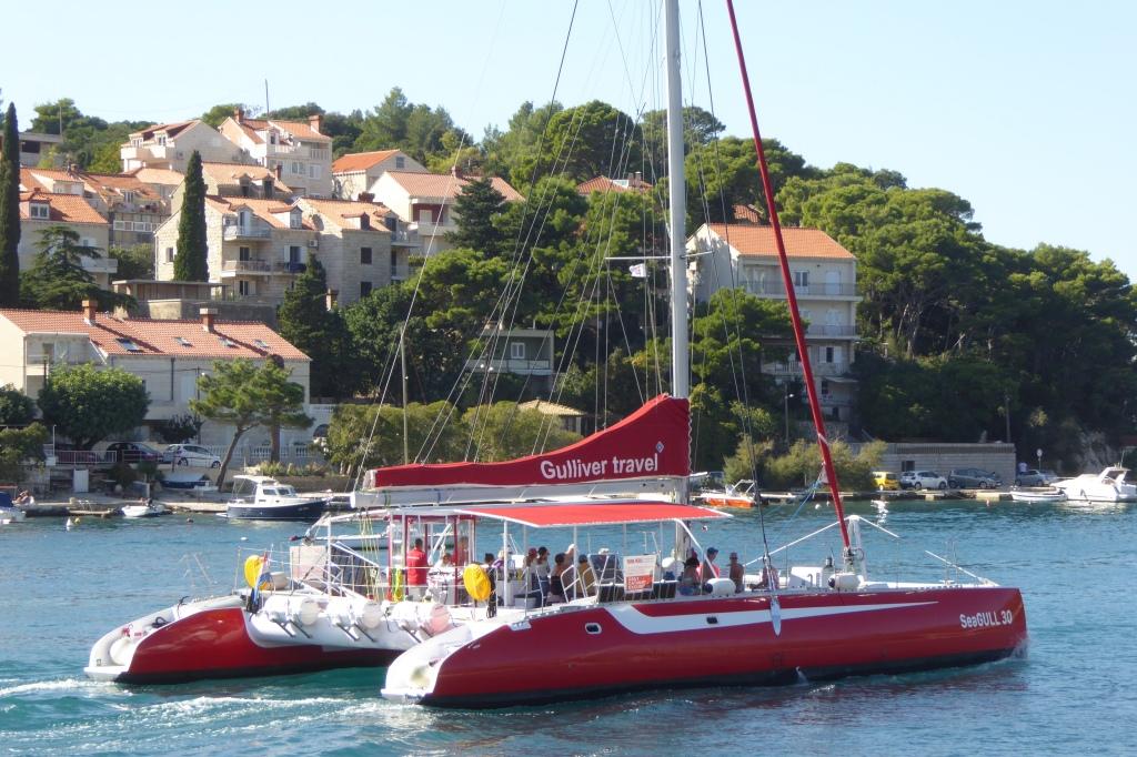 Dubrovnik catamaran