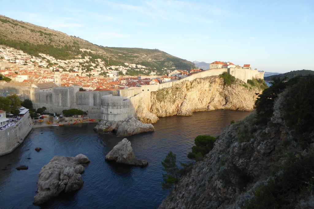 Dubrovnik walls and view