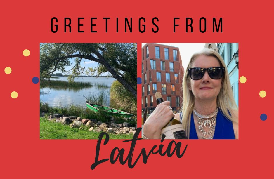 Postcard from latvia