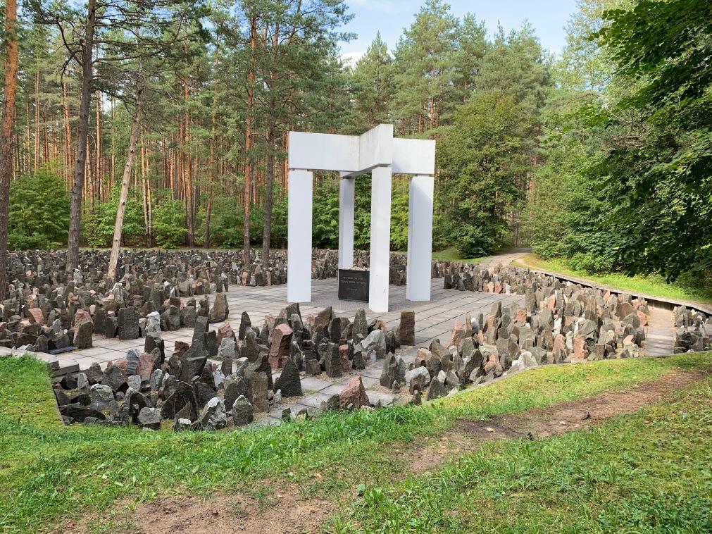 Jewish Memorial forest Riga