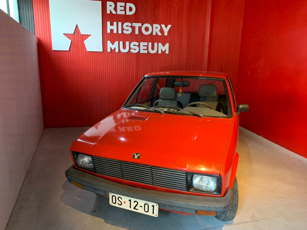 Dubrovnik Red Museum car