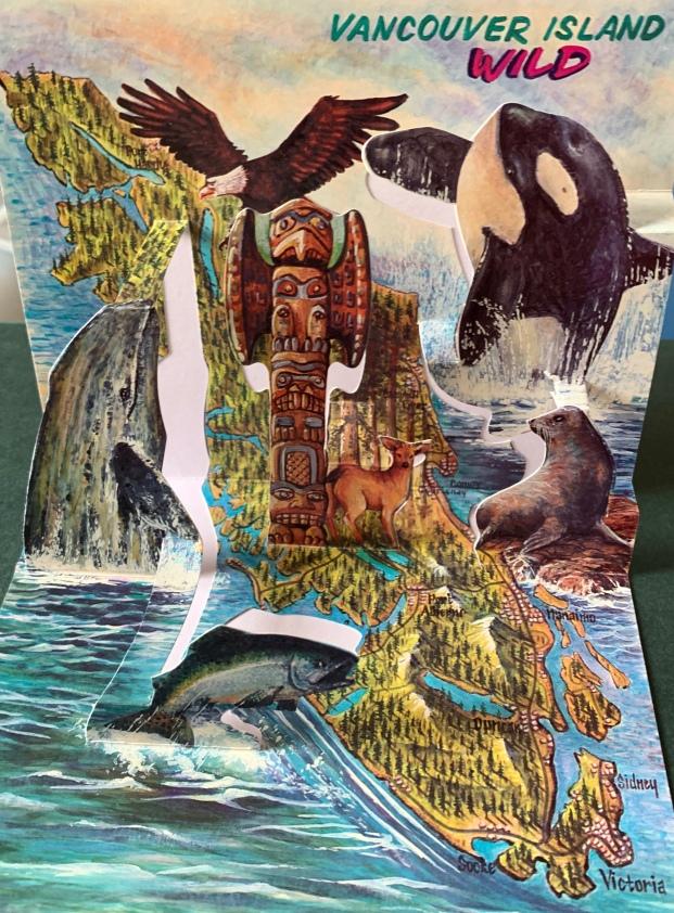 Vancouver Island postcard 1990s