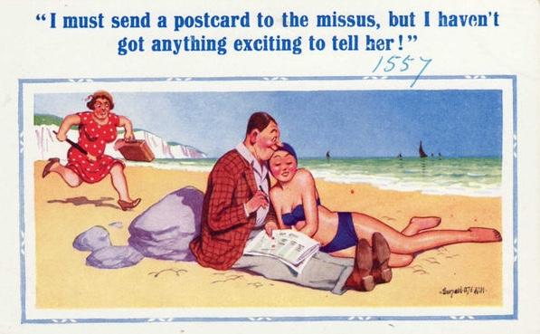 Saucy postcard