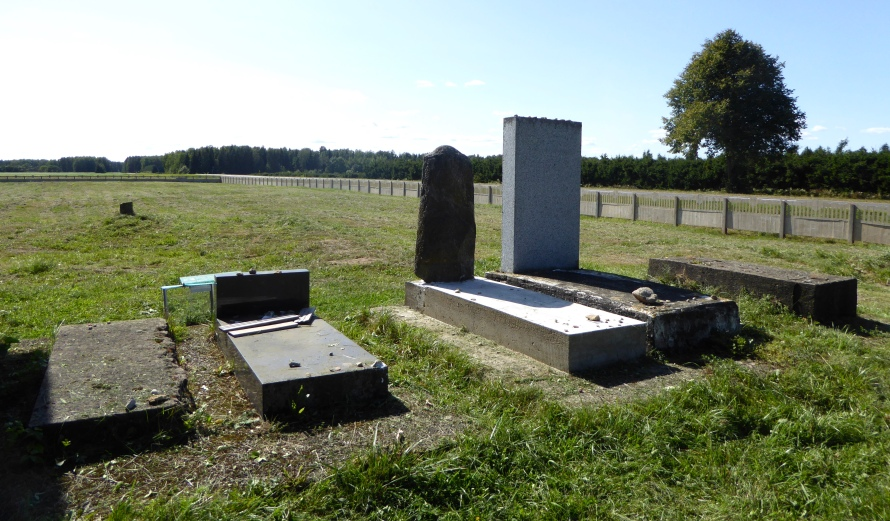 Radun Jewish memorial Belarus