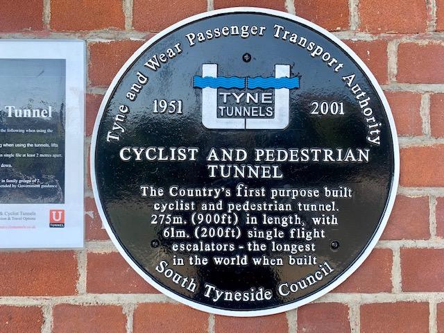 Jarrow Tyne pedestrian and cycle tunnel