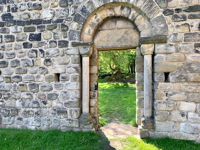 Jarrow Bede Chucrch arch
