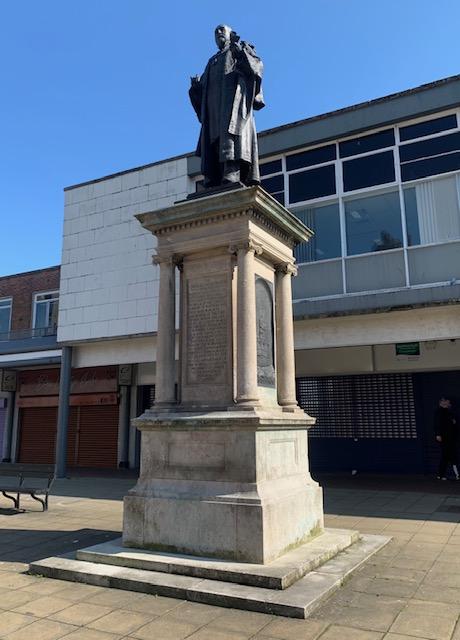 Jarrow statue