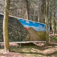 Five Billboards Outside Killhope, Weardale