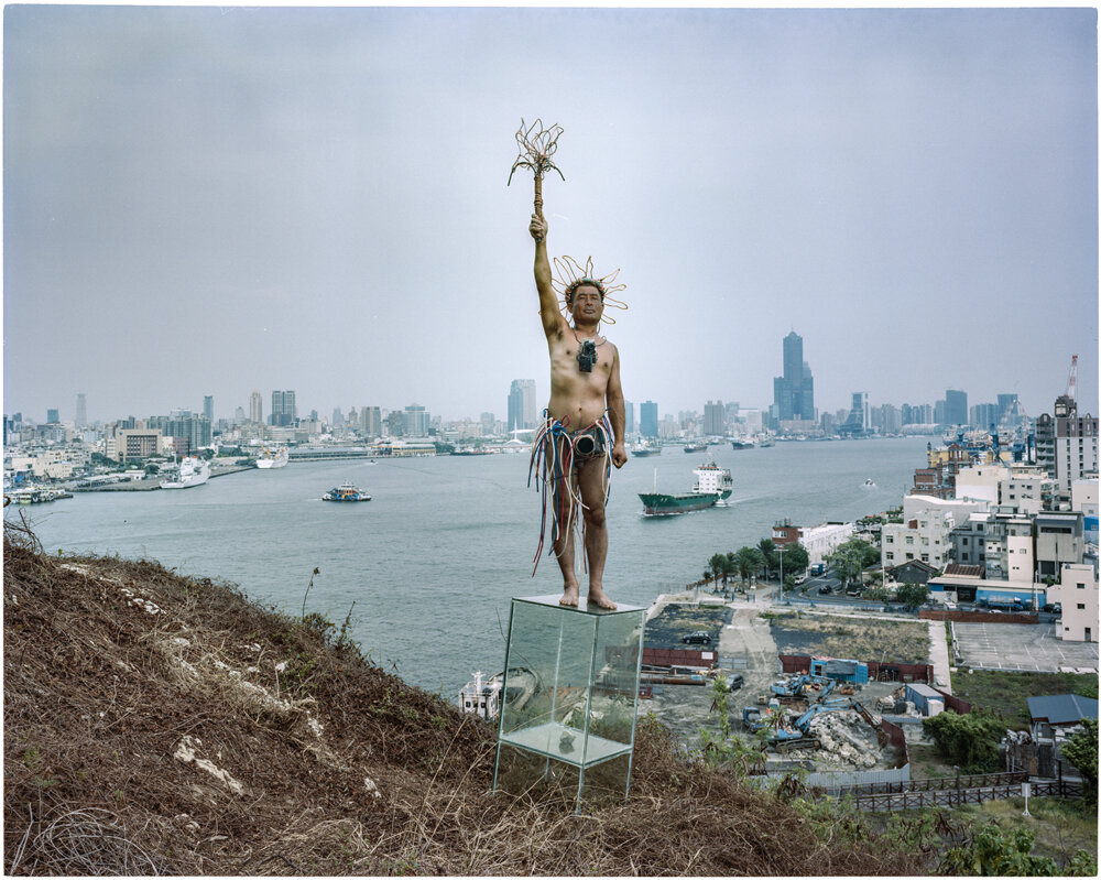 HSU CHING-YUAN, The Statue of Liberty #084, 2020. © the Artist Courtesy of the artist & Galerie Frédéric Moisan.