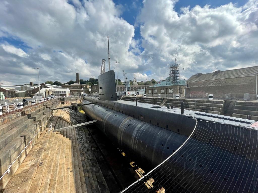 Ocelot submarine Chatham Dockyard
