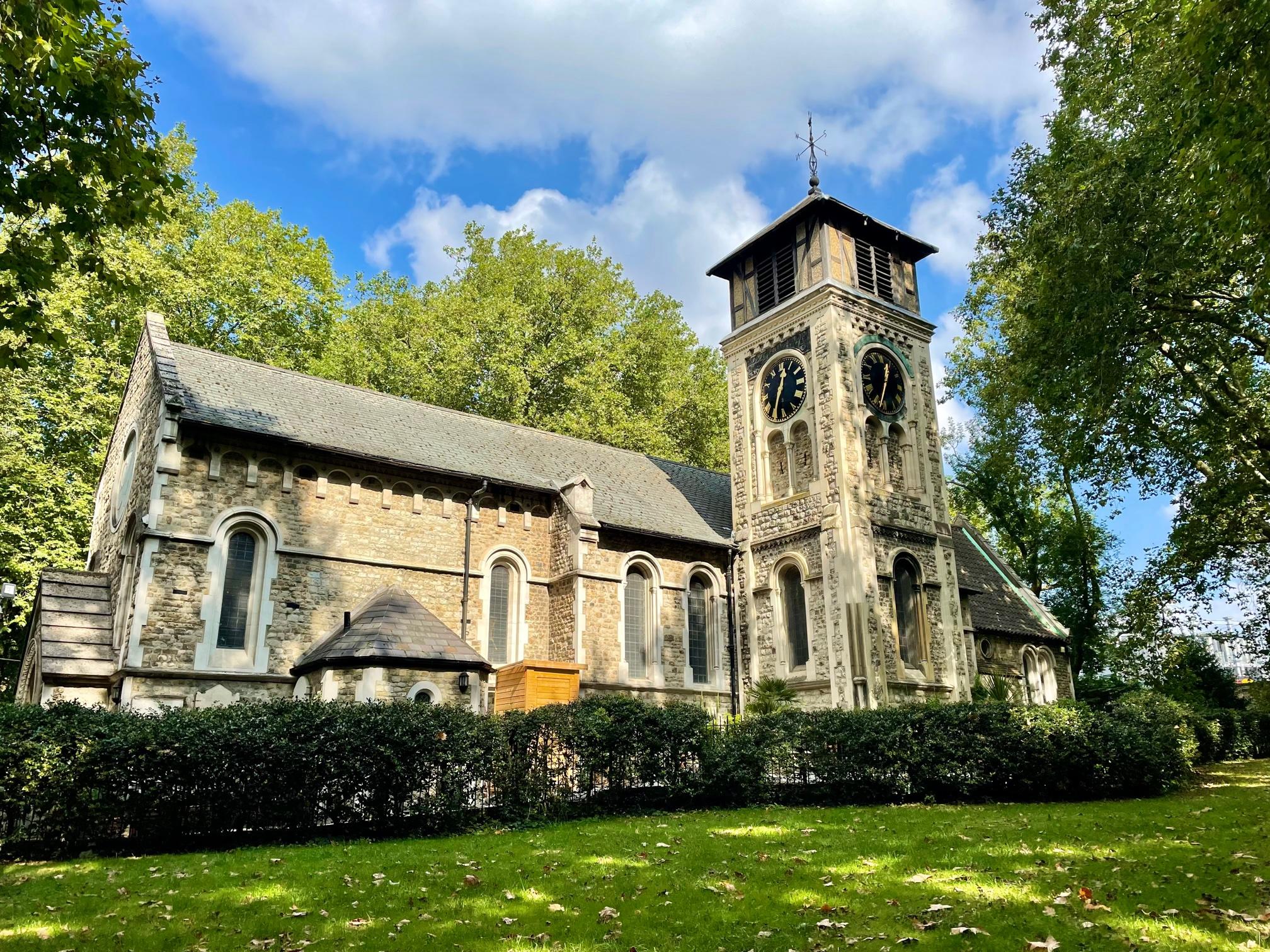 St Pancras Old Church London